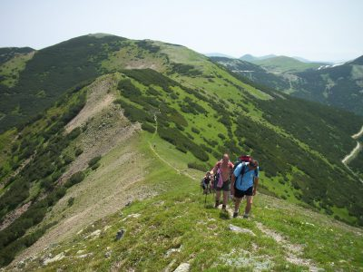 Summer hiking, Prokosko lake, Vranica